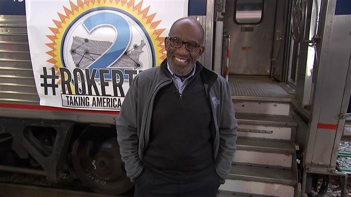 Rokerthon 2: See where Al Roker is on his way to breaking another world record - TODAY.com