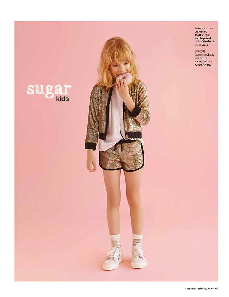 Olivia De Sugar Kids Para Smallish Magazine Children