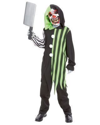 Cleaver The Clown Kids Costume  sc 1 st  Pinterest & Cleaver The Clown Boys Costume | Costumes Scary costumes and Kids ...