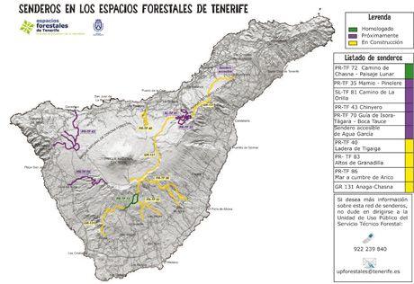 Senderos Forestales de Tenerife