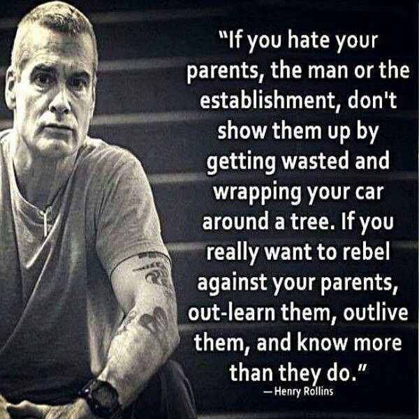 Henry Rollins Quotes Prepossessing Henry Rollins Quote  Music  Life  Pinterest  Henry Rollins