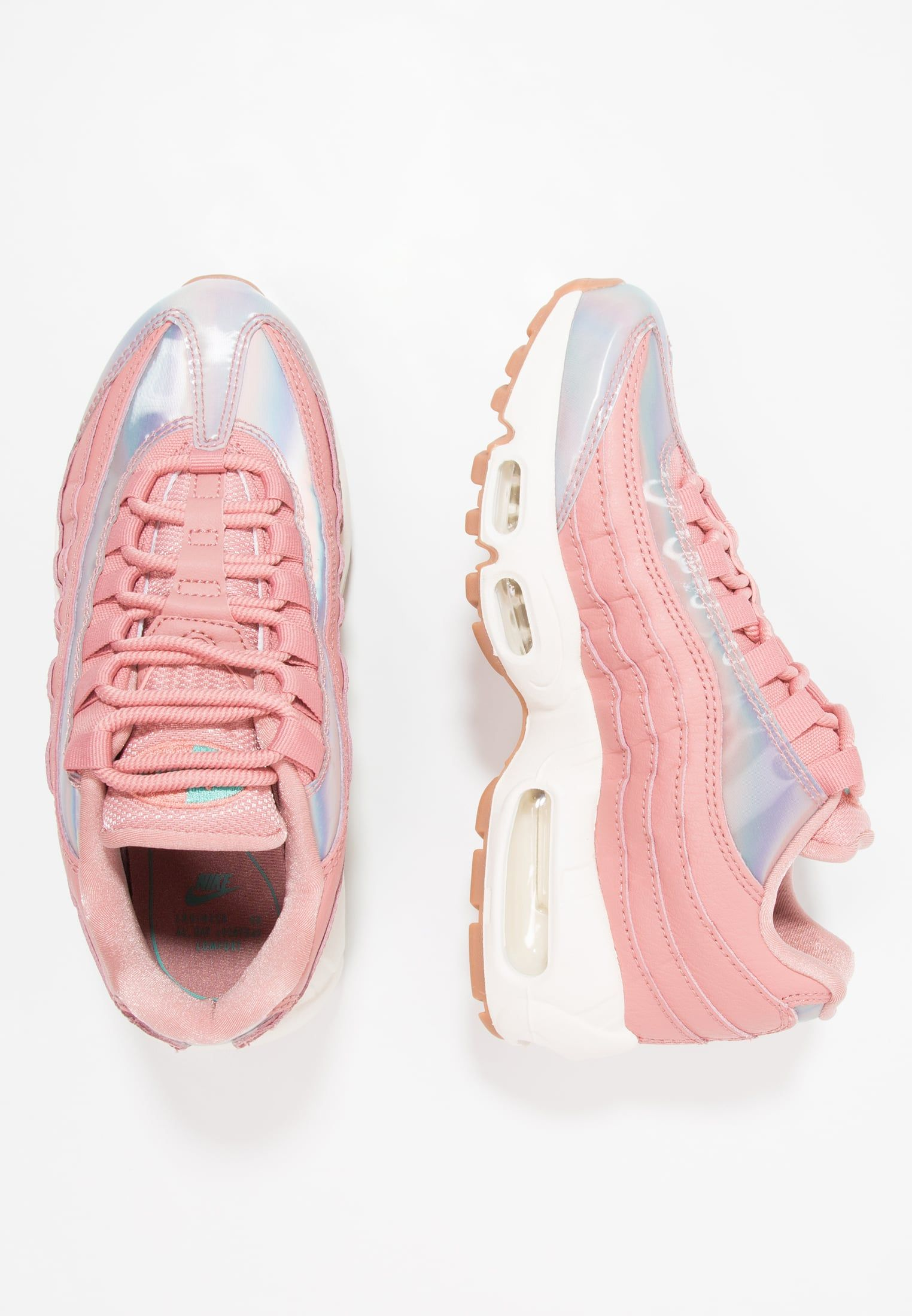 ff89a5aad4b4 Nike Sportswear AIR MAX 95 SE - Baskets basses - red stardust washed  teal sail medium brown - ZALANDO.FR