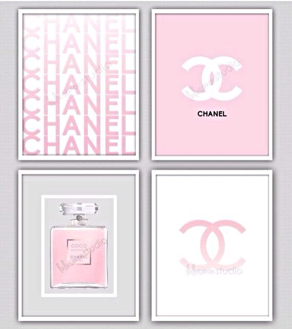 Chanel Framed Prints Chanel Decor Chanel Room Chanel Bedroom
