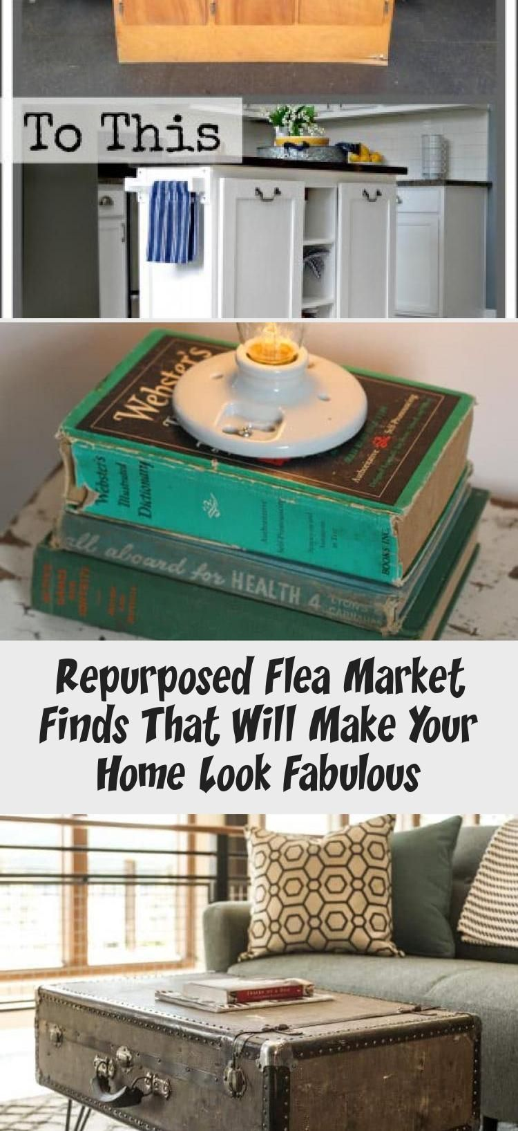 Repurposed Flea Market Finds That Will Make Your Home Look Fabulous  Vintage  Repurposed Flea Market Finds that Will Make Your Home Look Fabulous Best Pictu