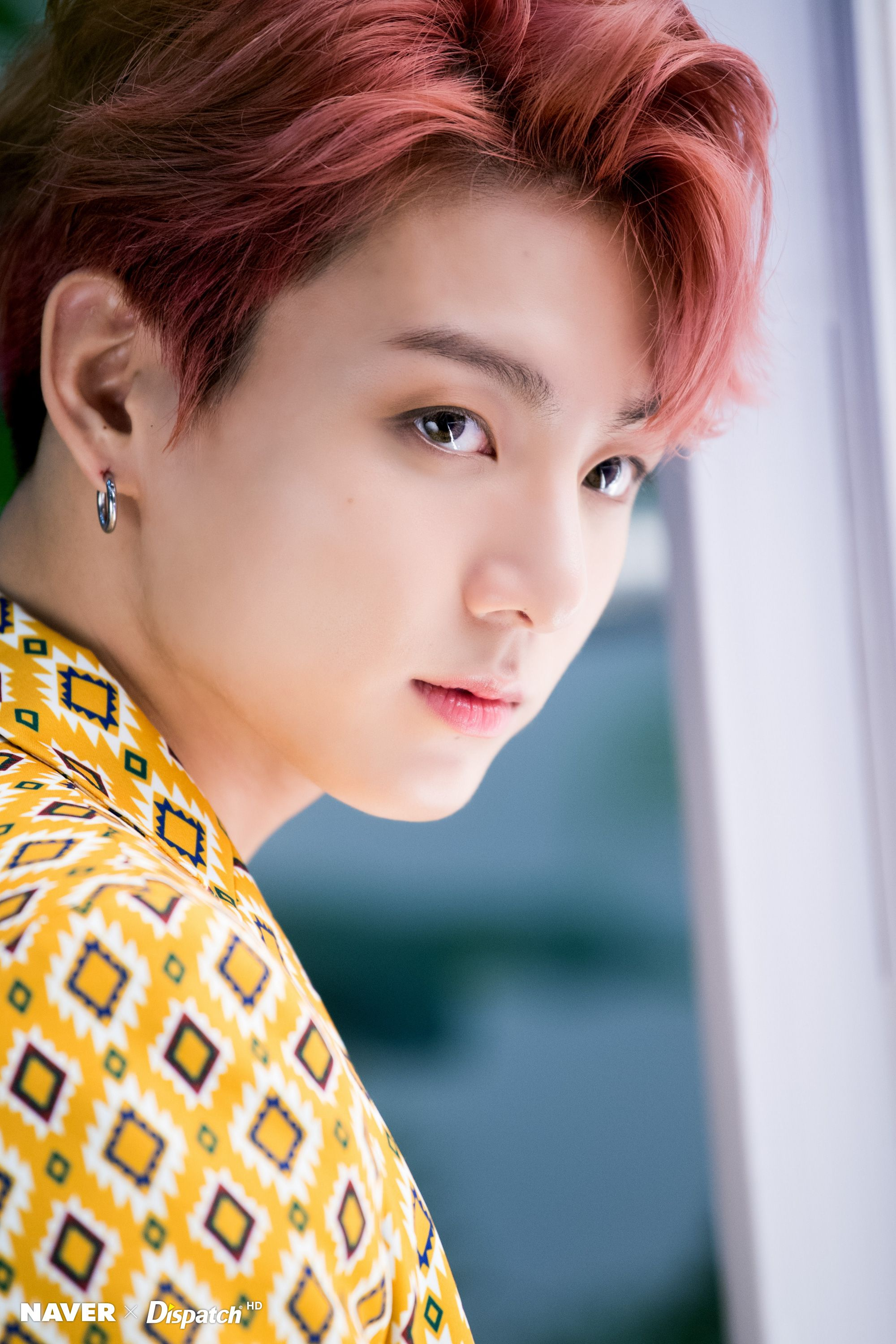 Jungkook Bts X Dispatch Behind The Scenes Of Idol Love_yourself_  E B  _