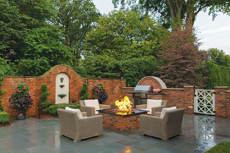 landscaping ideas on acre with lots of established trees - Google Search