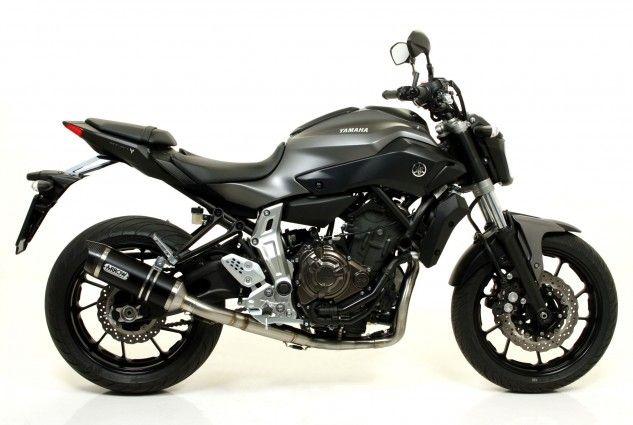 Arrow Exhausts Introduces 2014 Yamaha FZ-07 Fitments