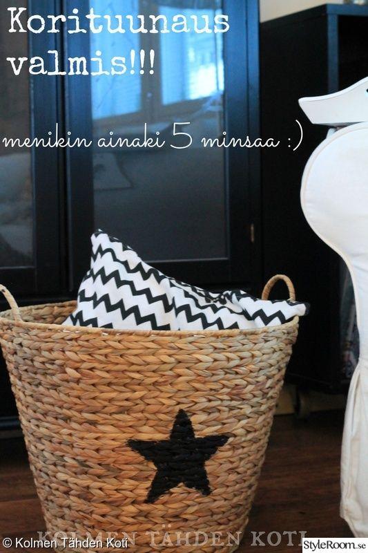 tuunaus,tyyny,kori,tähti,Tee itse - DIY