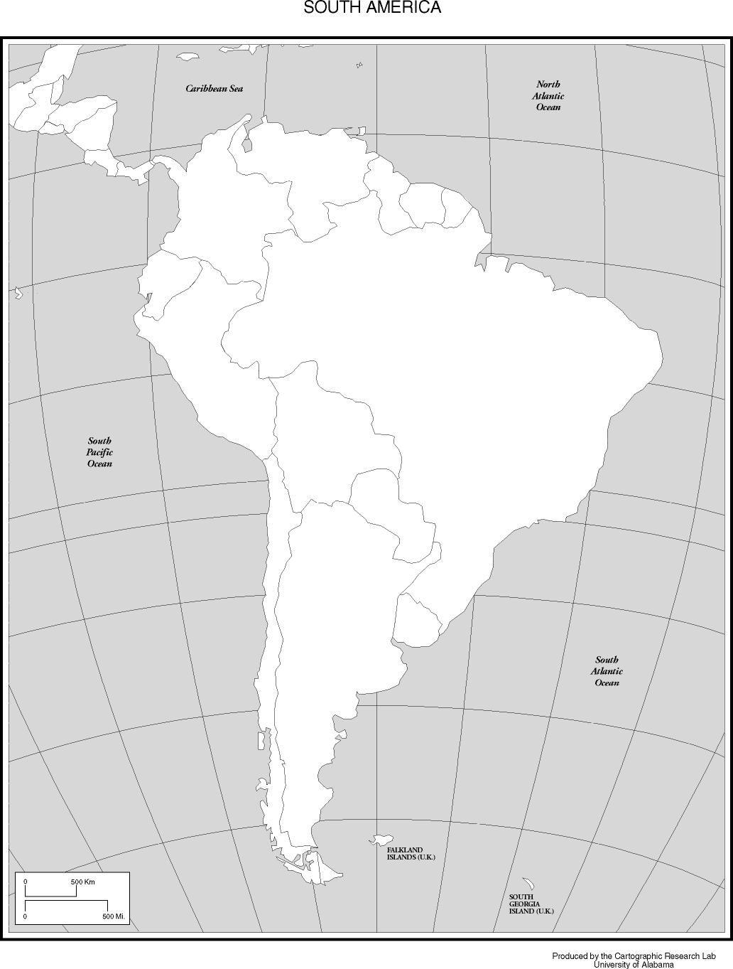 Georgia Del Sur Mapa.Mapa America Del Sur Politico Para Imprimir 1 Map Art
