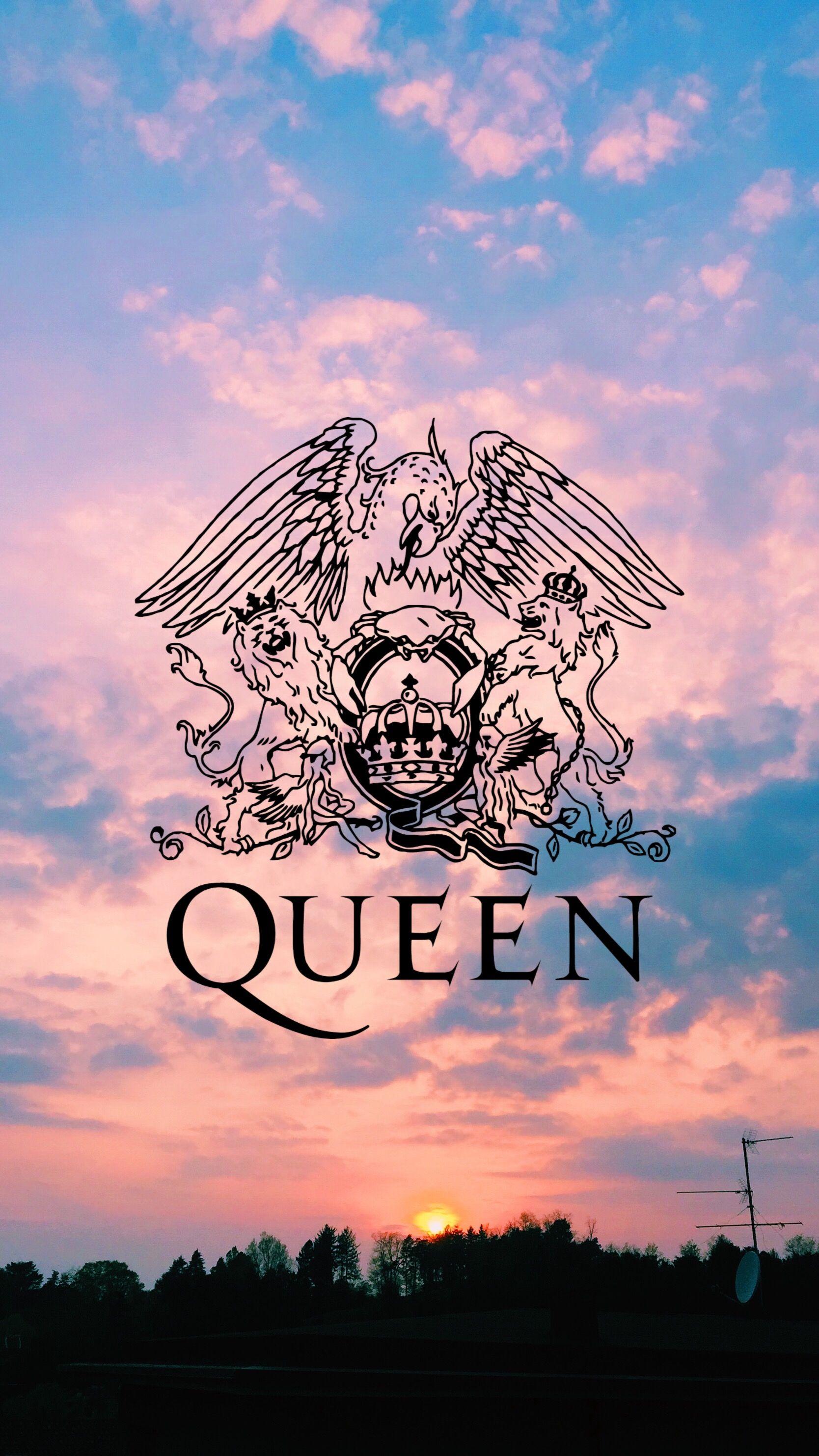 Queen logo band background nel 2020 Sfondi, Sfondi per