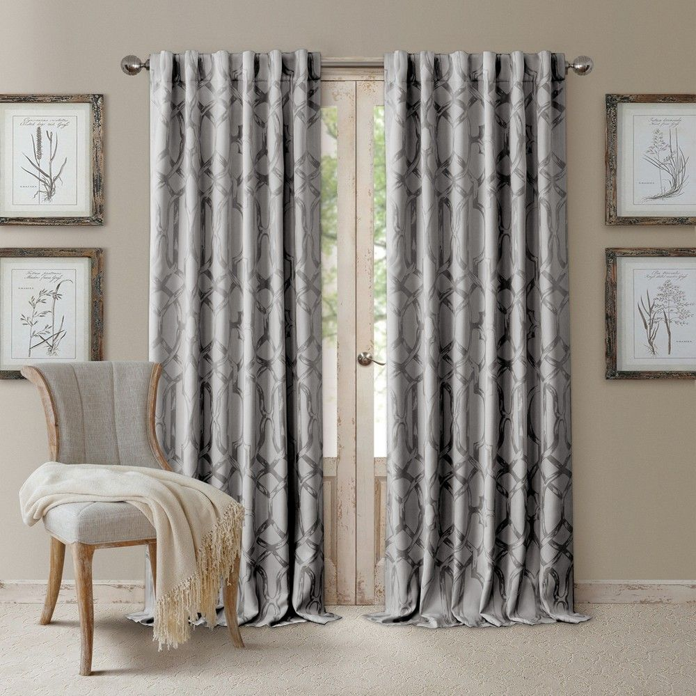 Darla Tonal Blackout Window Curtain Panel 52 X With Images