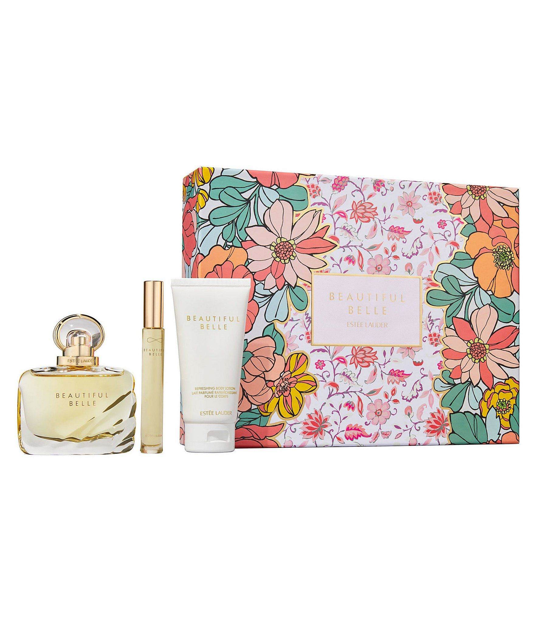 Estee Lauder Beautiful Belle Romantic Promises Gift Set