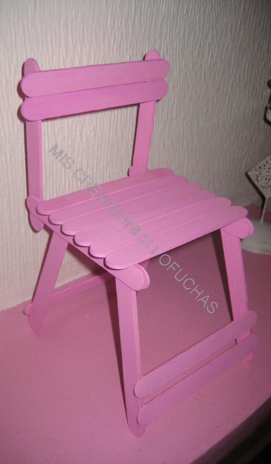Silla para fofucha fofuchas pinterest sillas goma - Goma espuma para sillas ...