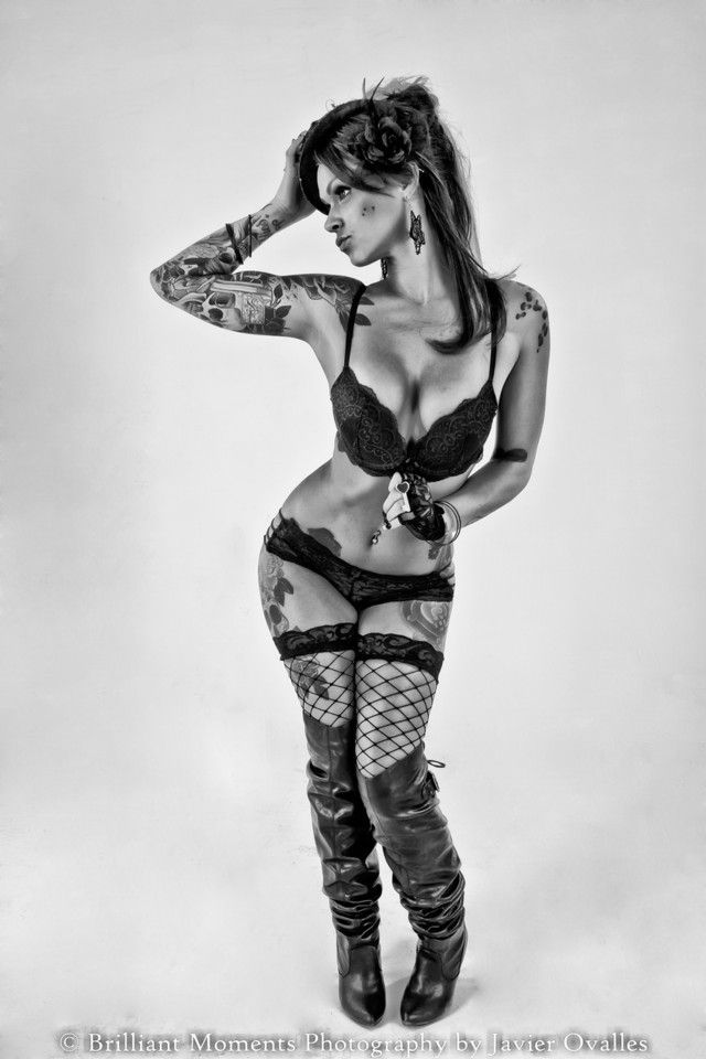 Ms. Chickie Tattooed Women Association I love randomly finding my work on  the internet. - burlesque, Etc., Fashion, Goth, Implied Nude, Ink, pinup,  Retro, ...