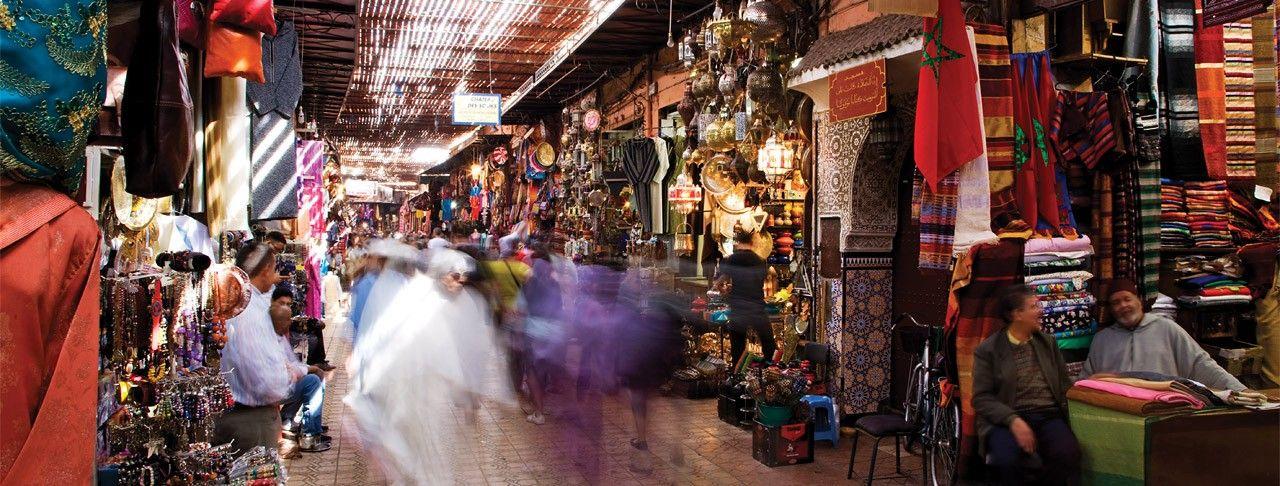 Must Travel List The Bustling Markets Of Marrakech Four Seasons