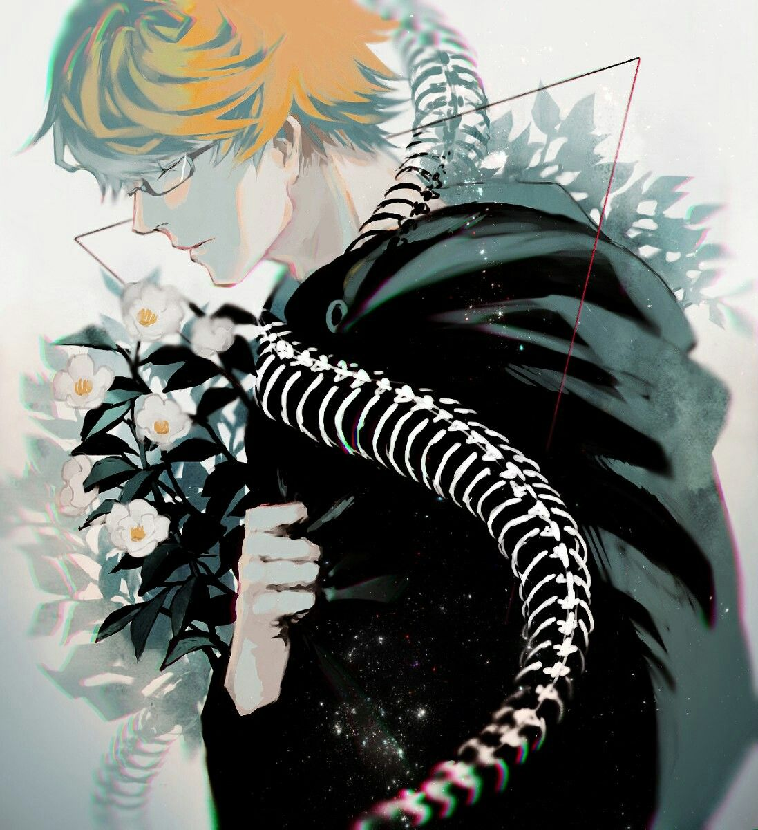Nishiki Chibi tokyo ghoul, Tokyo ghoul fan art, Anime