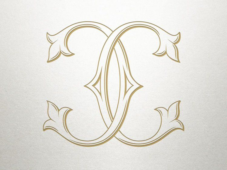 Cc Monogram Monogram Monogram Logo Design Tattoo Lettering