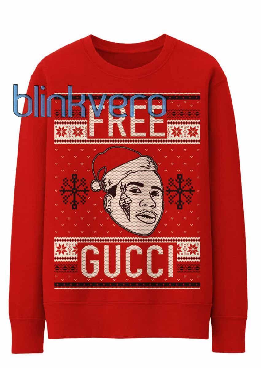 Free gucci ugly christmas sweater t shirt tshirt shirt shirts ...