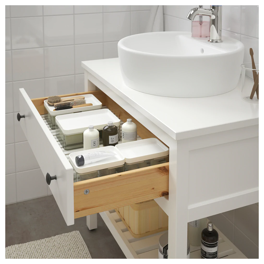 Cabinet Drawer Hemnes Ikea Open Sink White Hemnes Open Sink