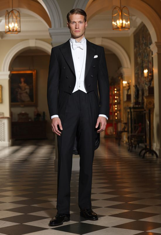 It Would Be Wonderful To Go To A White Tie Event White Tie Dress Code White Tie Suit White Tie Wedding
