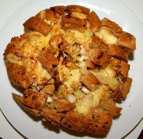 Franskbrød med fyld... lækker snackfood..