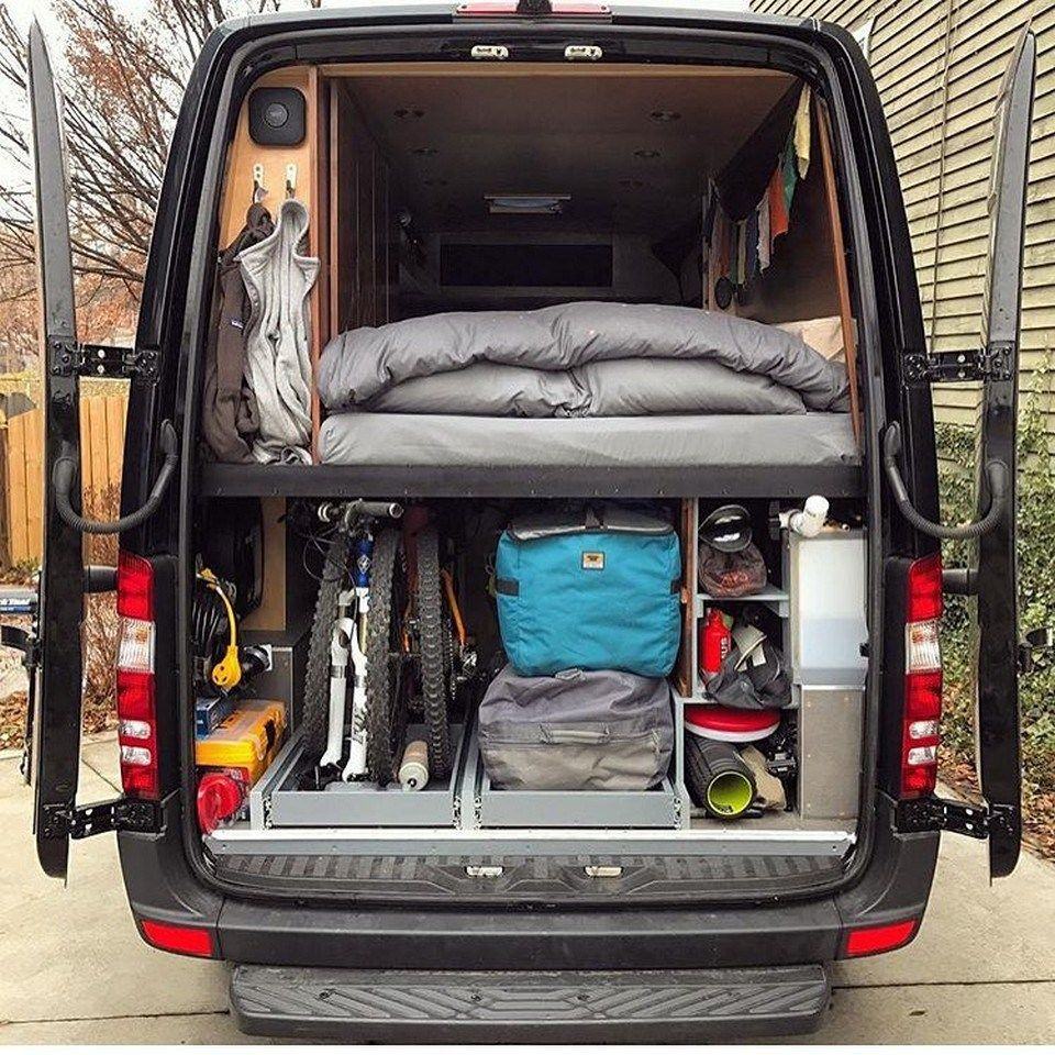 99 Full Tour Mercedes Sprinter Van Conversion 9