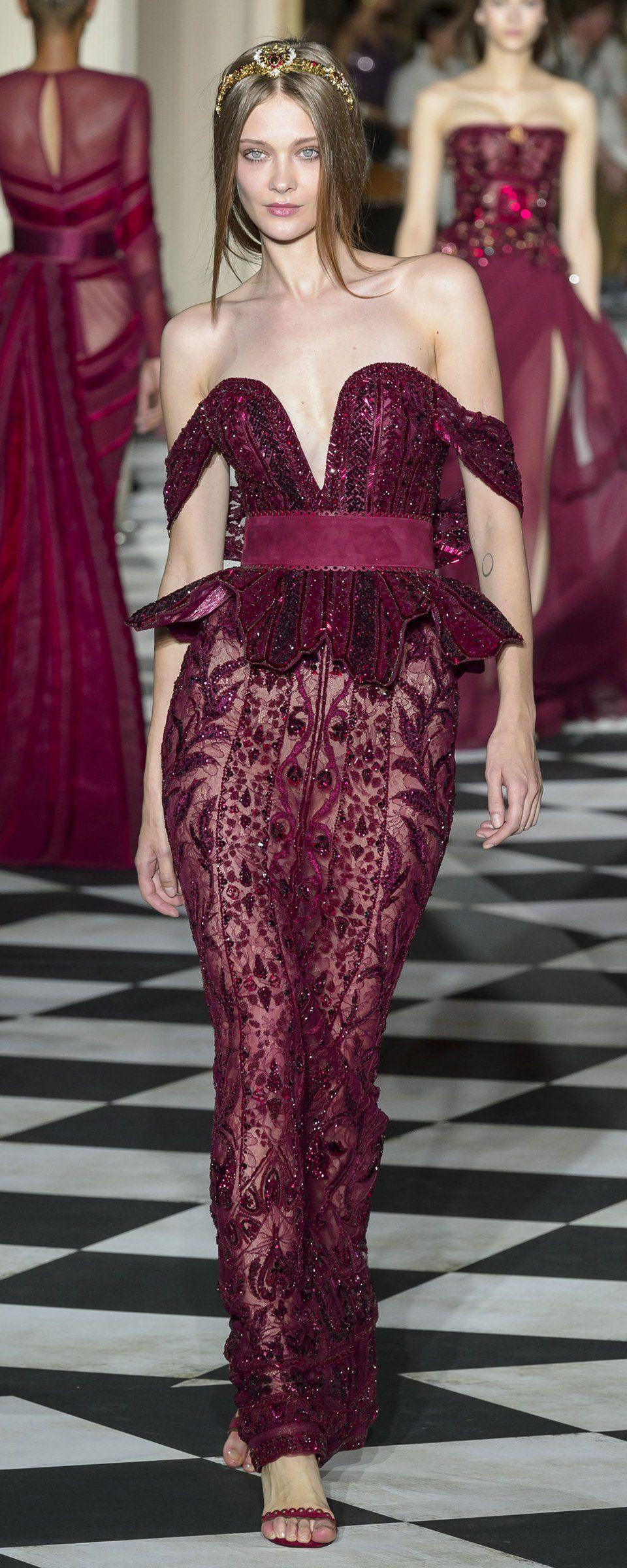 Zuhair Murad Automne,hiver 2018,2019 , Haute couture en 2019