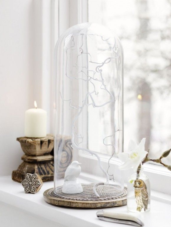 Witte kronkeltak in stolp witte for Decoratie vensterbank