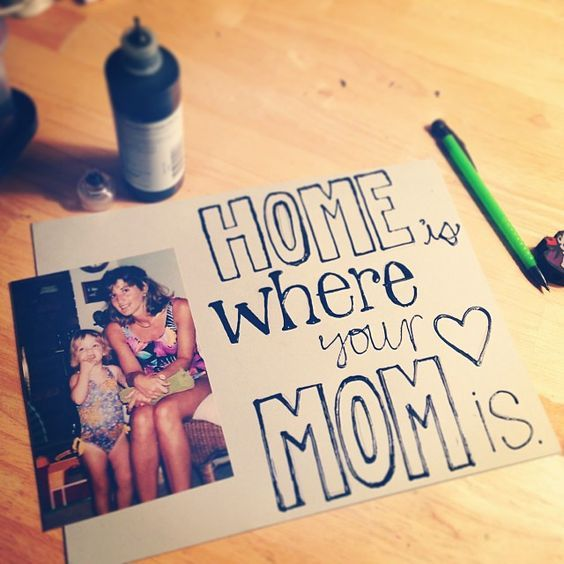 Diy Gifts For Mom From Kids Handmade