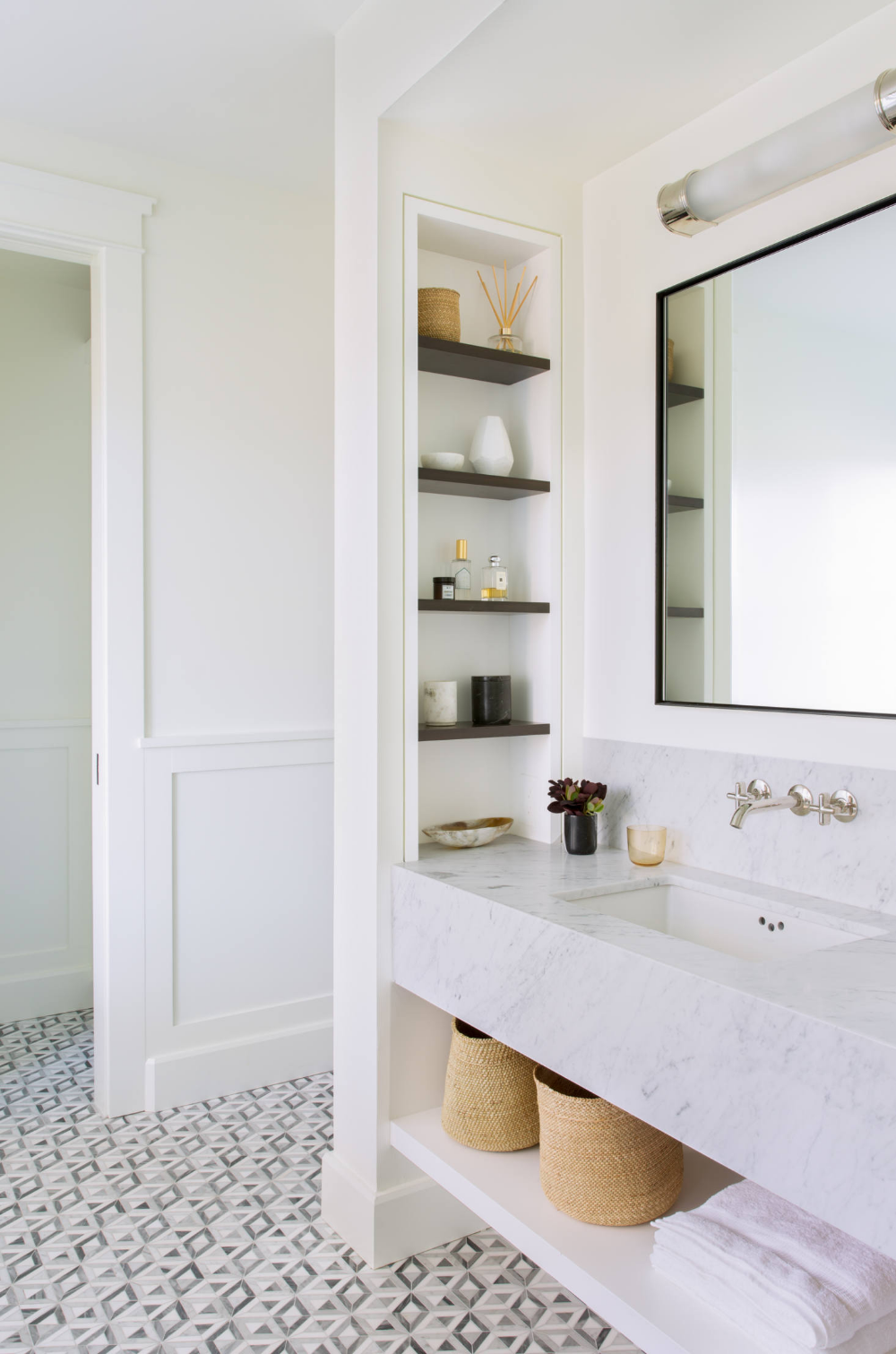 Mill Valley Makeover A Historic California House Remodel With Traditional Modern Flair Bathroom Interior Bathroom Design Bathrooms Remodel