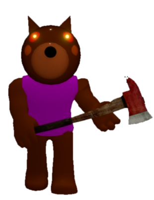 Bendy Shirt Roblox Chapter 4 Forest Bot Skin Roblox Piggy In 2020 Doggy Piggy Fnaf Wallpapers