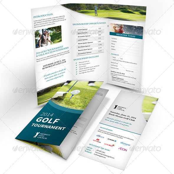 Professional Tri Fold Brochure  Google Search  Workin For A