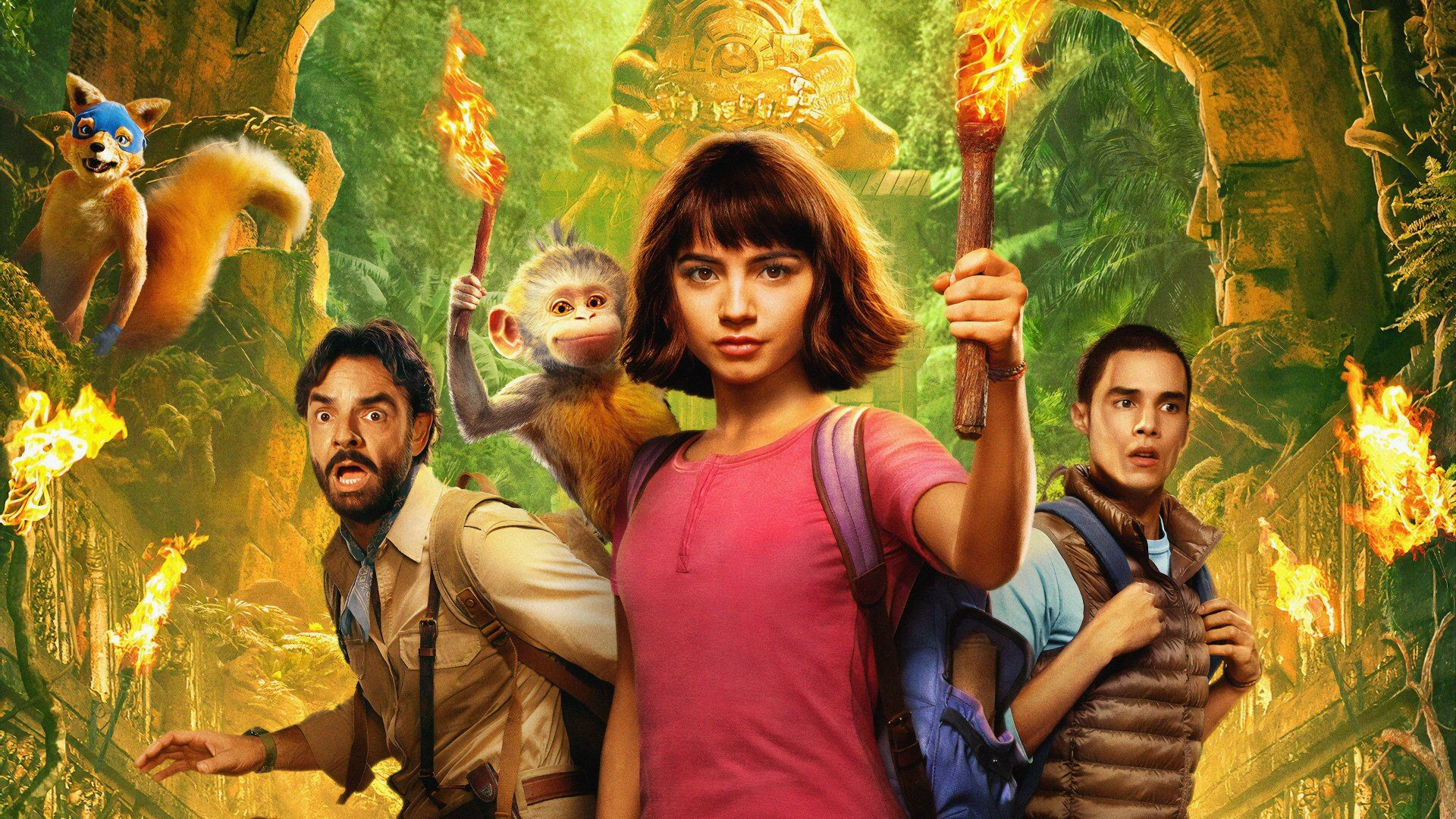 Dora And The Lost City Of Gold 2019 Dual Audio Hindi English 480p Brrip In 2021 Lost City Of Gold Lost City Gold Movie