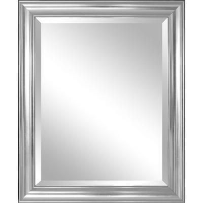 Buy Bathroom Mirror with Silver Frame- Free Shipping at OliveTree ...