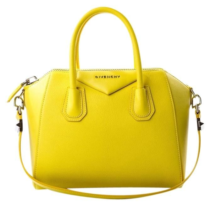 Get one of the hottest styles of the season! The Givenchy Small Antigona  Leather Yellow Tote Bag is a top 10 member favorite on Tradesy. 03f8ea122a518