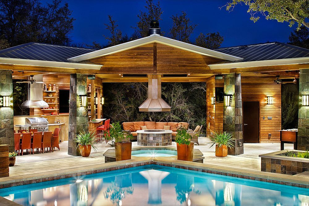 25 Pool House Designs To Complete Your Dream Backyard ...