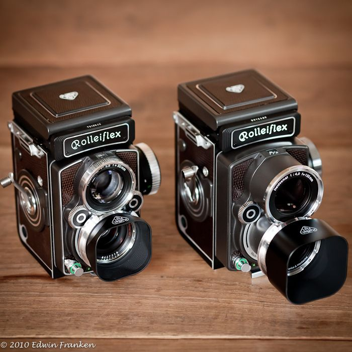Rollei TLR 6x6 Cameras