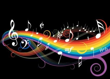 Theme Music Notes Vector-vector Misc-free Vector Free Download