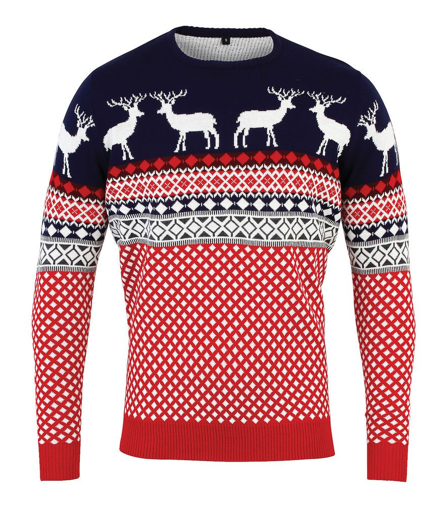 Christmas Jumper Fairisle Nordic Unisex Best
