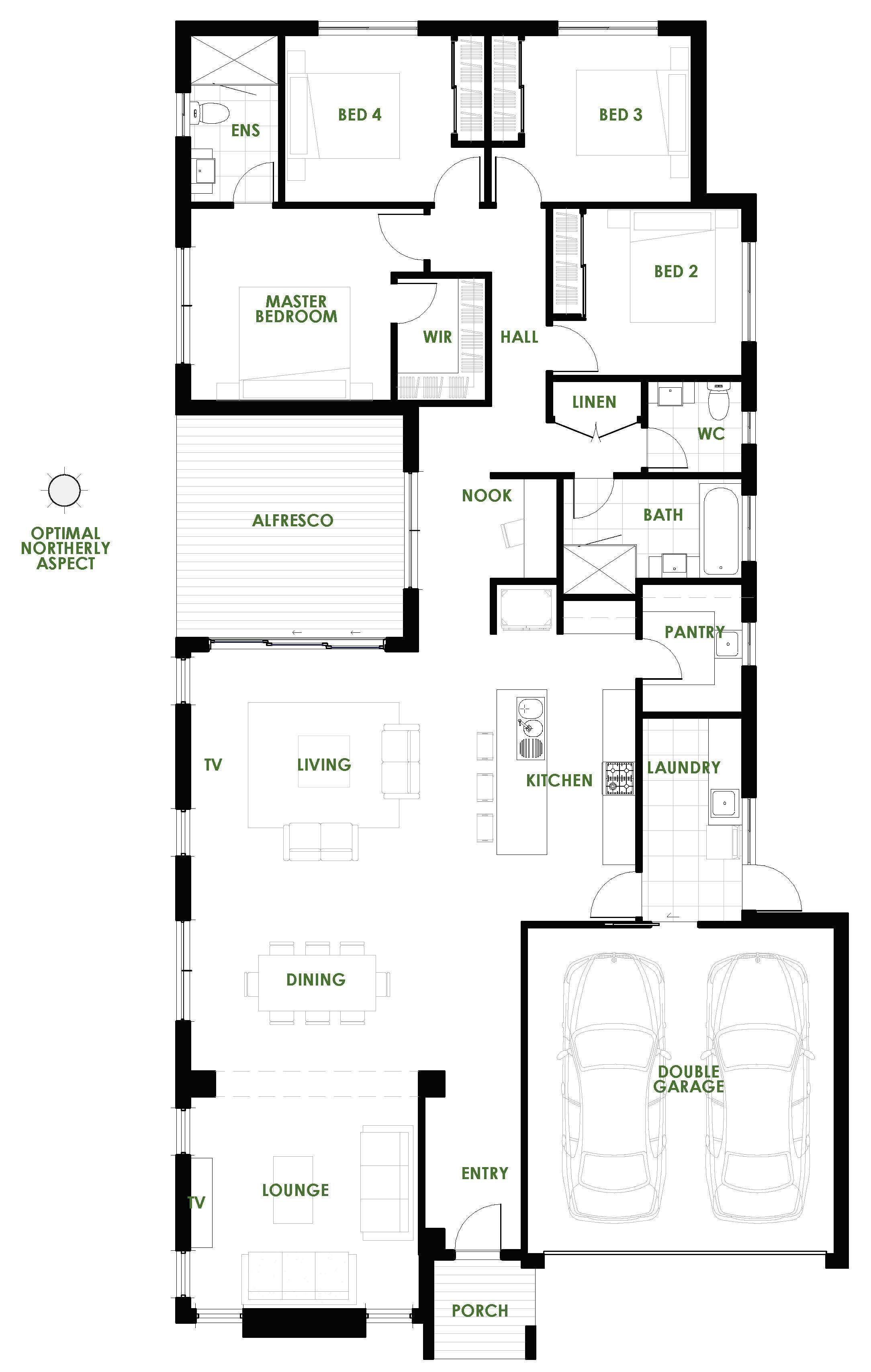 Are You Looking For The Latest In Eco House Design A Waratah Energy Efficient House Plan From Gr Energy Efficient House Plans Eco House Design Eco House Plans