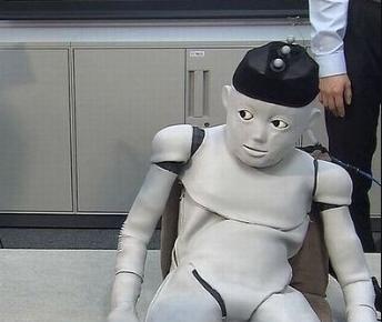 일본 애기 로봇.....(좀많이 섬뜩) | 인스티즈