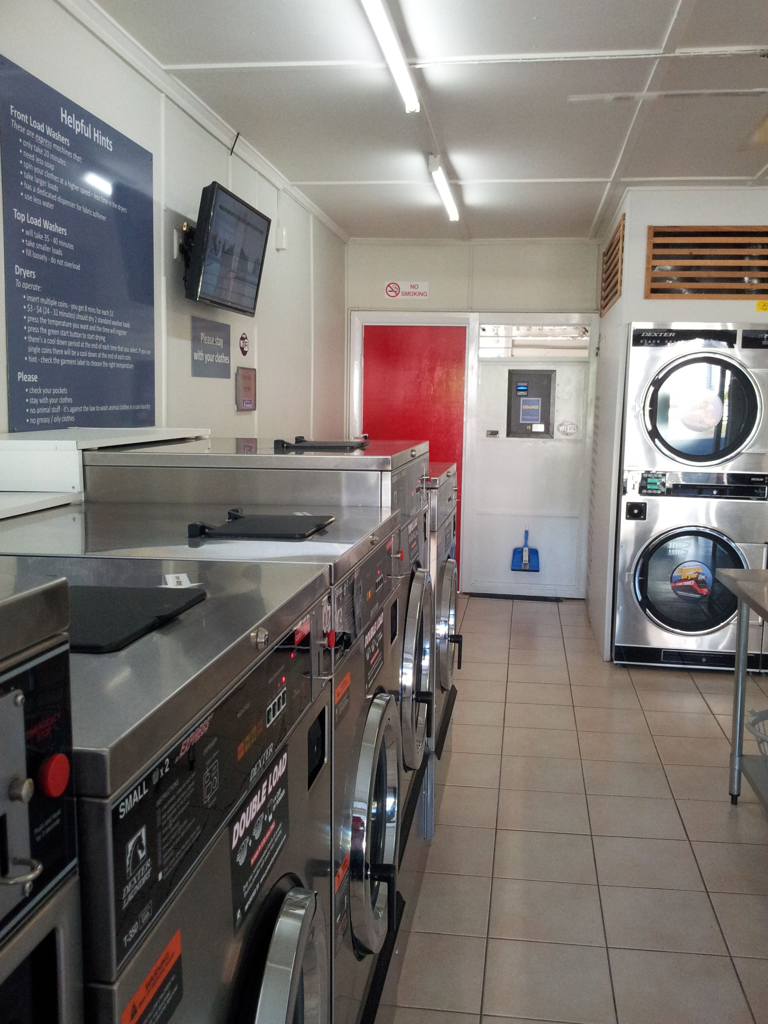Indooroopilly Laundromat. Find us at Taringa in Brisbane