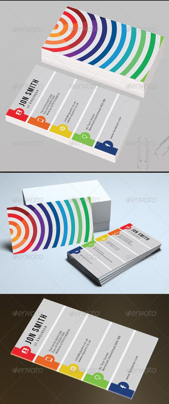 Personal Business Card | Business cards, Template and Creative design
