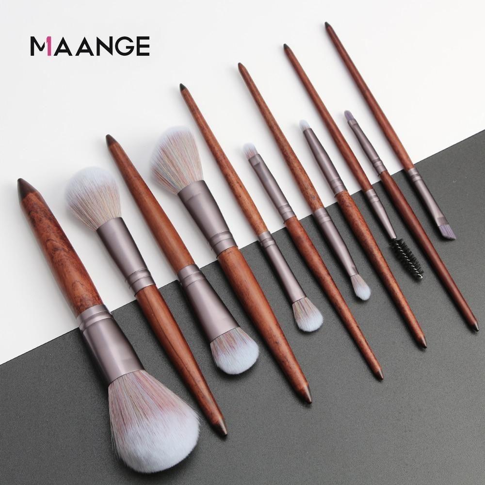 Photo of MAANGE 11Pcs Makeup Brushes Set Make Up Brush Tool Kit – United States