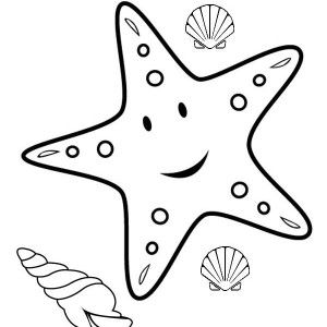 starfish drawing for kids Google Search Kids Craft Pinterest