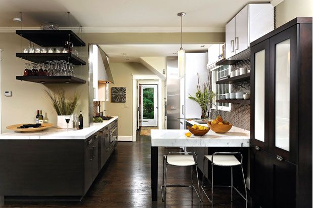Editor S Top Picks Kitchen Design Home Magazine Designs Modern Dark Wood Cabinets