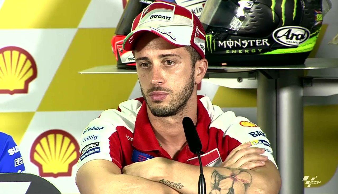 Malaysian GP Press Conference Andrea Dovizioso