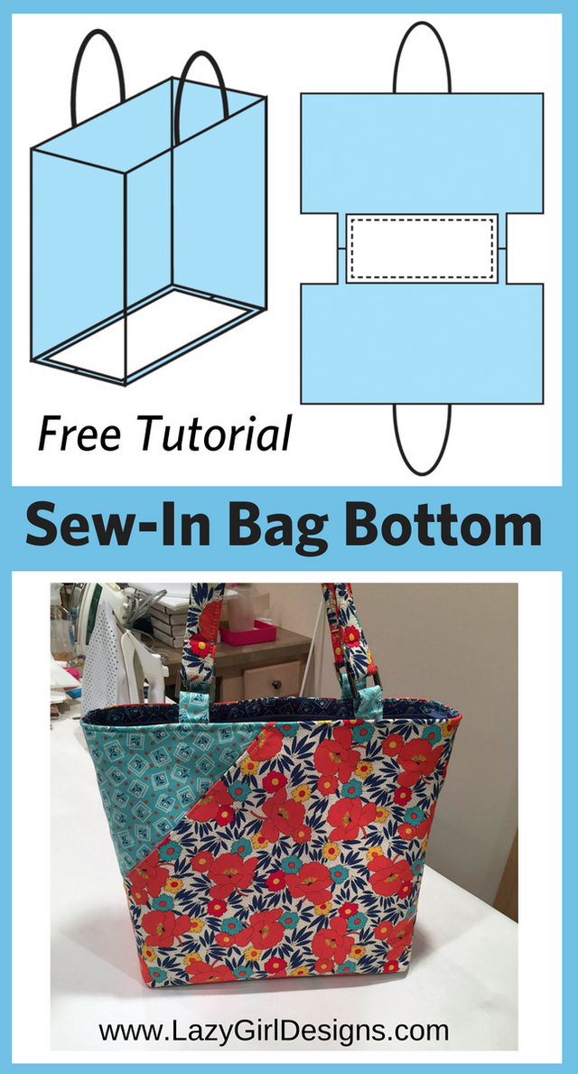 1423614d0 Free Tutorial: Easy Sew-In Support for Bag Bottoms   Lazy Girl Designs    Bloglovin'