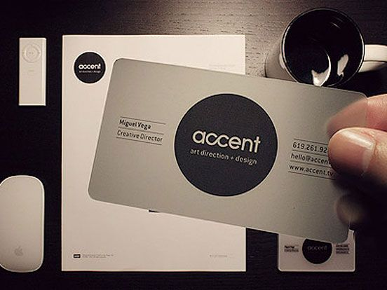 Accent business card business cards the design inspiration accent business card business cards the design inspiration reheart Gallery