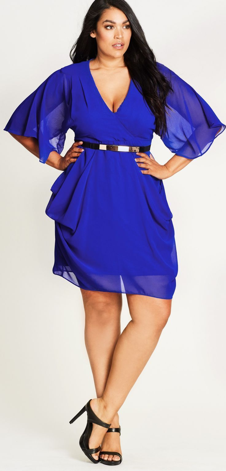 Plus Size Party Dresses with Sleeves Fashion Clothes and Clothing